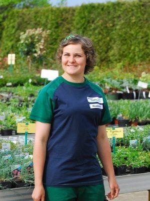 <strong>Ricarda Henneberg</strong><br> Meisterin seit 2014 <br><br> Aufgabengebiet: <br>Gartengestaltung, Kulturarbeiten, Verkauf, Ausbildung